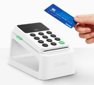 We take card payments